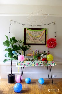 XPress DIY: Dinner Party Decoration on a Dime