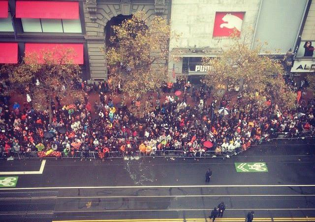 Quest For Three: Giants Parade Livestream in SF
