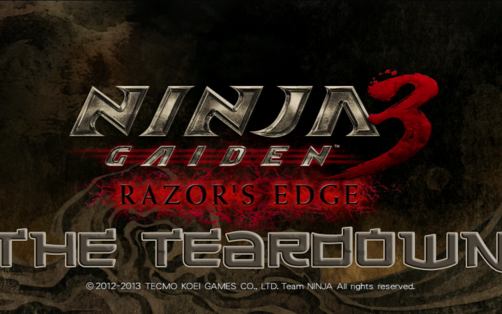 The Teardown: Ninja Gaiden 3: Razor's Edge