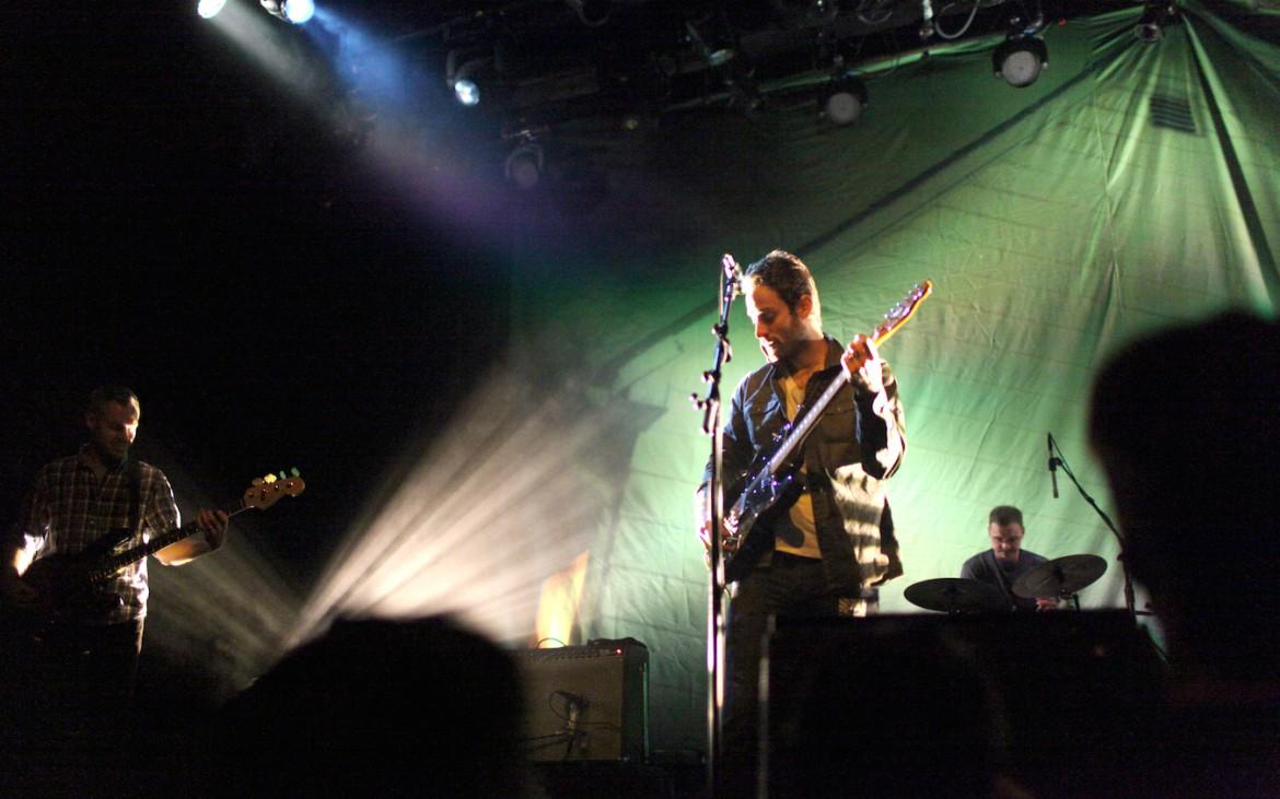 American Football plays at the Fillmore on their first night during their stay in San Francisco on Thursday, Dec. 11.