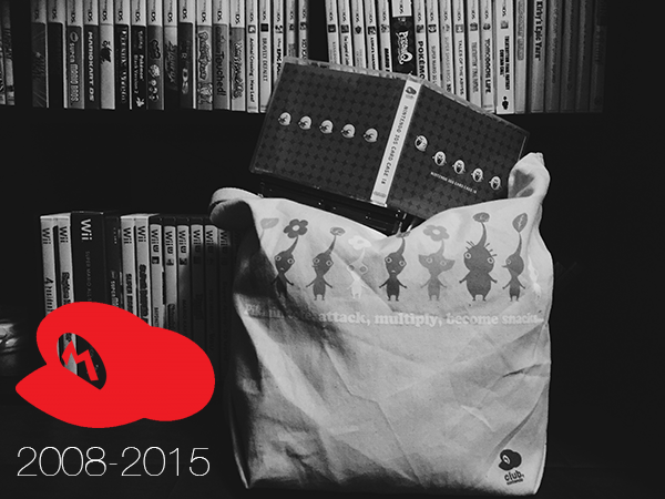 Mourning the loss of Club Nintendo, with exclusive items from the program on display. Photo/Graphic by Caty McCarthy.