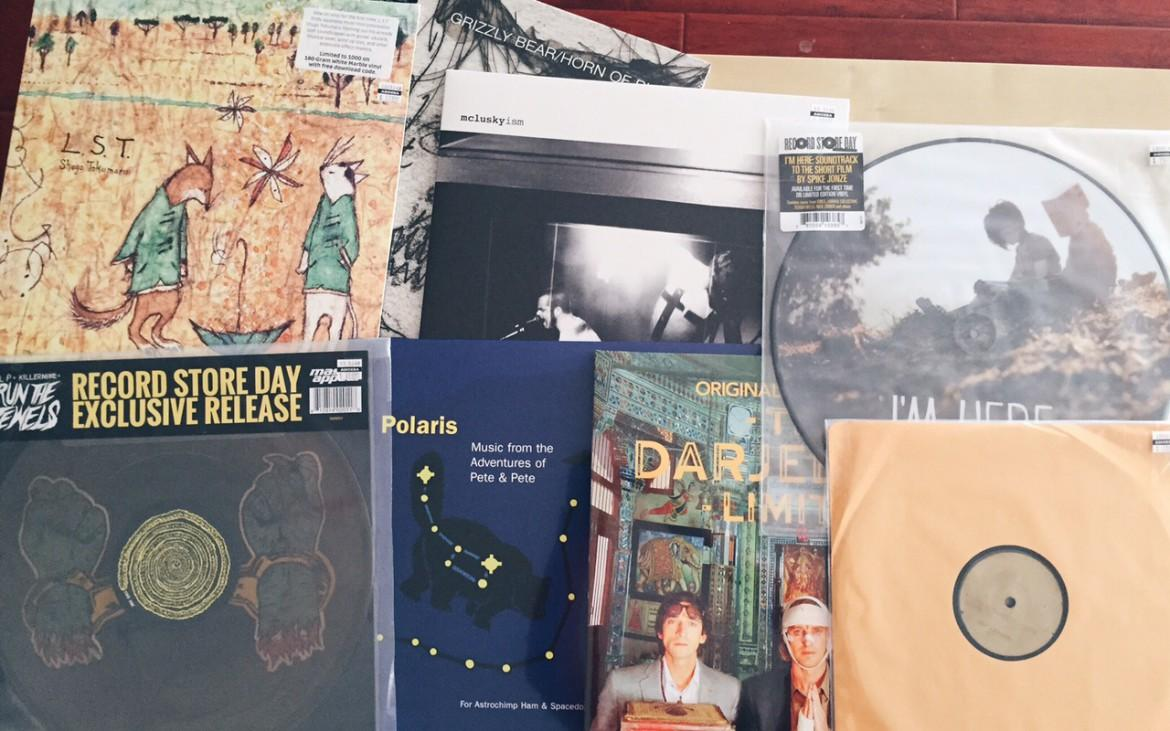 Okay I Believe You, But My Tommy Gun Don't: My boyfriend and I's collective Record Store Day 2015 haul.