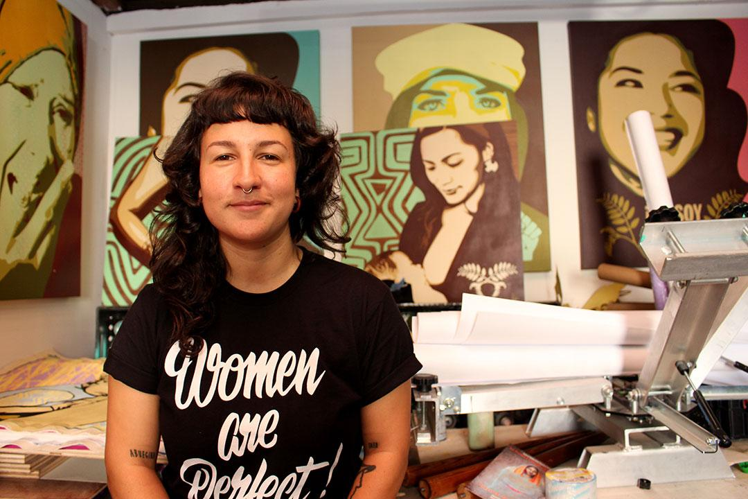 Inside the 'Women Are Perfect' Artist