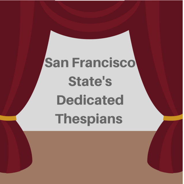 San Francisco State's Dedicated Thespians