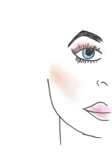 Illustration of makeup. (Ingrid Mera/Xpress)