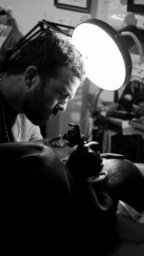 Galen Leach, tattoo artist in San Francisco