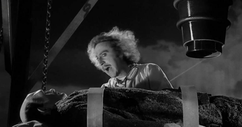 Gene Wilder and Peter Boyle in Young Frankenstein (1974). Photo From IMDb.