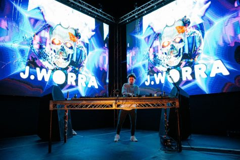 J.Worra performs a DJ set at The Midway on Friday, October 30, 2020.
