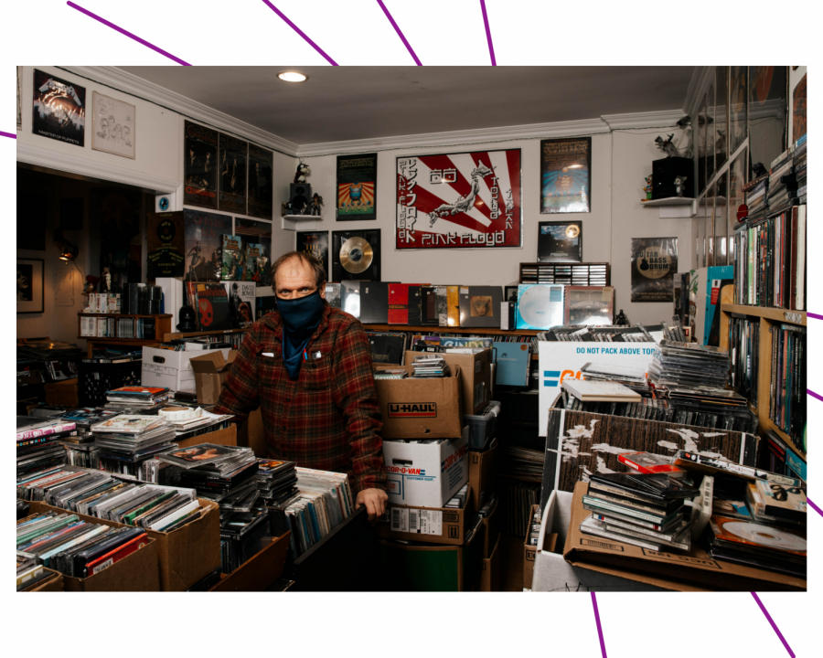 Record stores survive and thrive