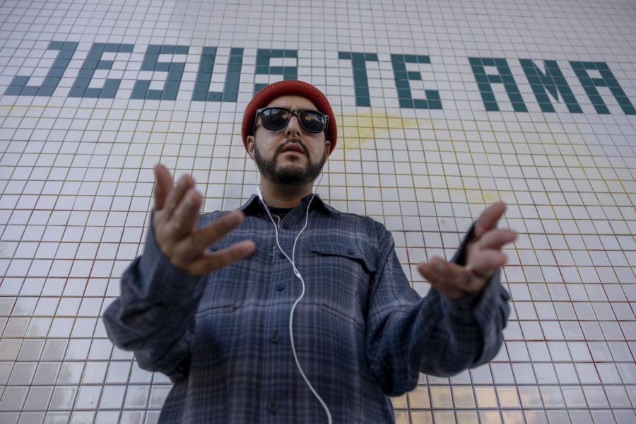 On Valencia St. in the Mission District there is a church called El Templo De La Fe Asamblea. Fego says that any time he passes by it now it brings back childhood nastolgia.