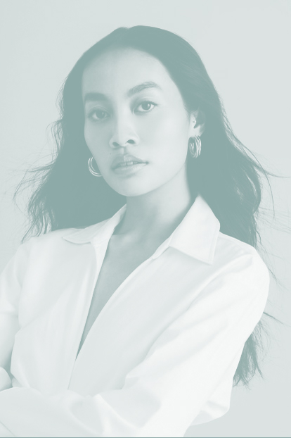 Headshot of Trinity Wong, Photo courtesy ofJoe Bulawan - AMTI MODEL MANAGEMENT.
